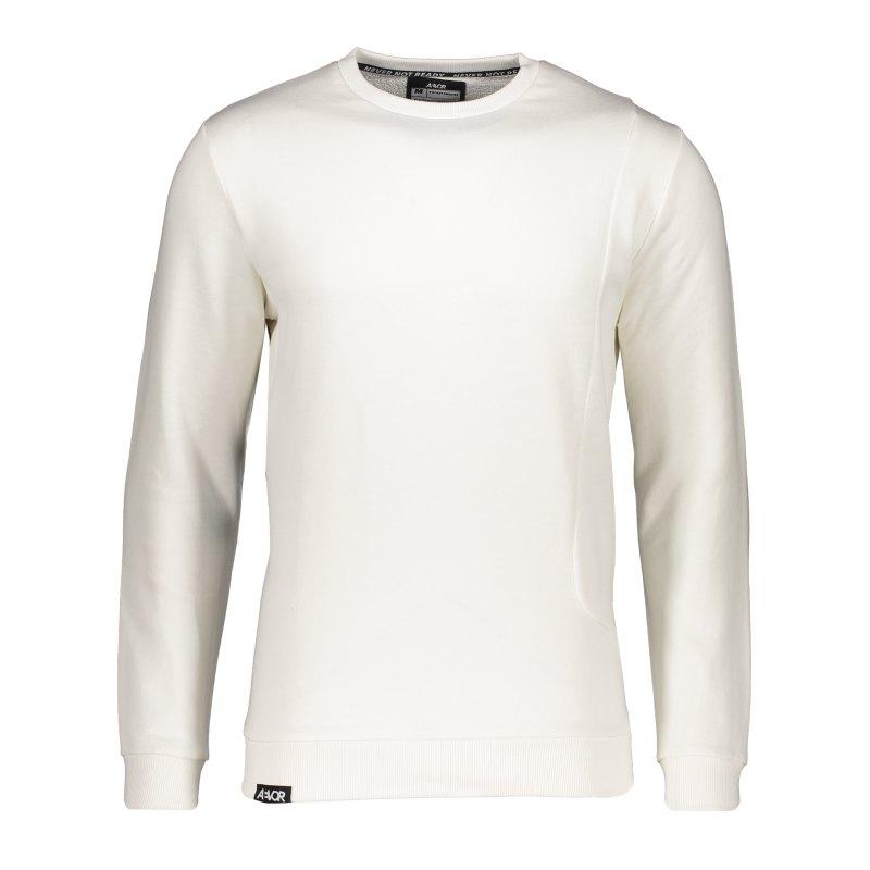 AEVOR Pocket Sweatshirt Weiss F80076 - weiss