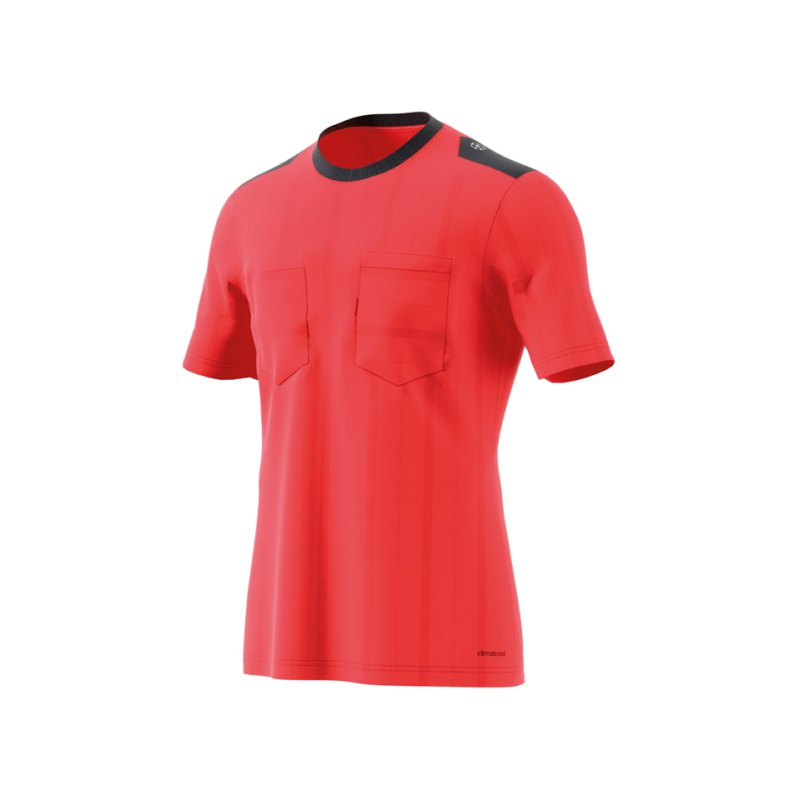 adidas Trikot kurzarm UCL Referee Rot - rot