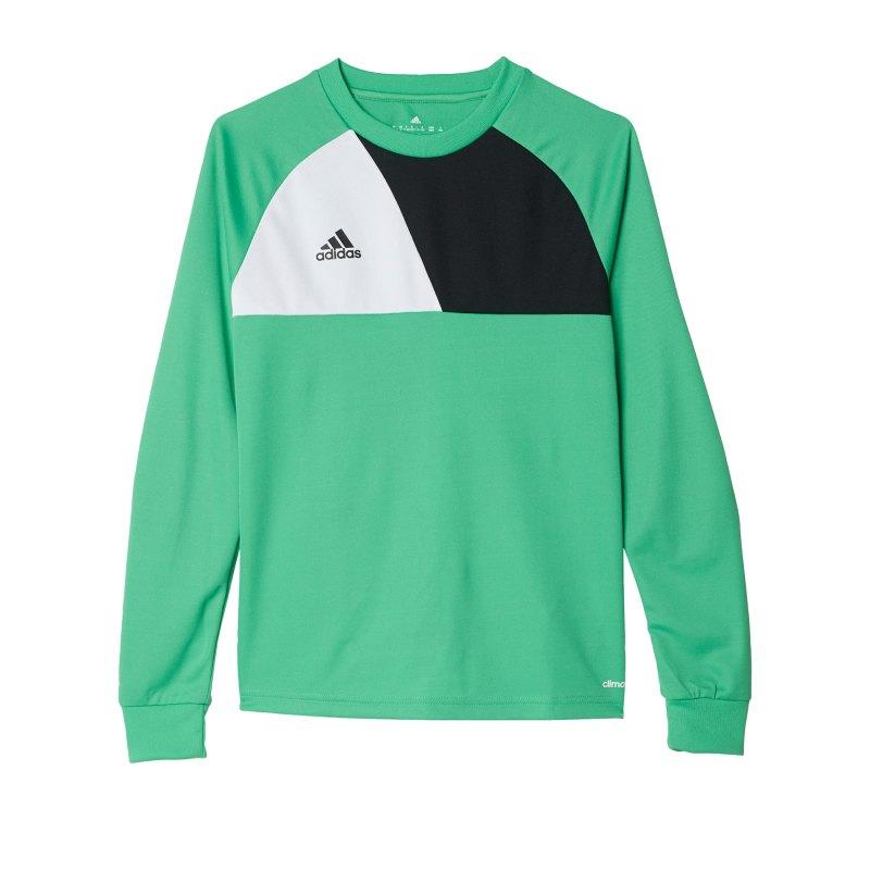adidas Assita 17 langarm Shirt Kids Grün Weiss - gruen