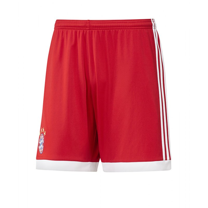 adidas Home Short FC Bayern München 2017/2018 Rot - rot