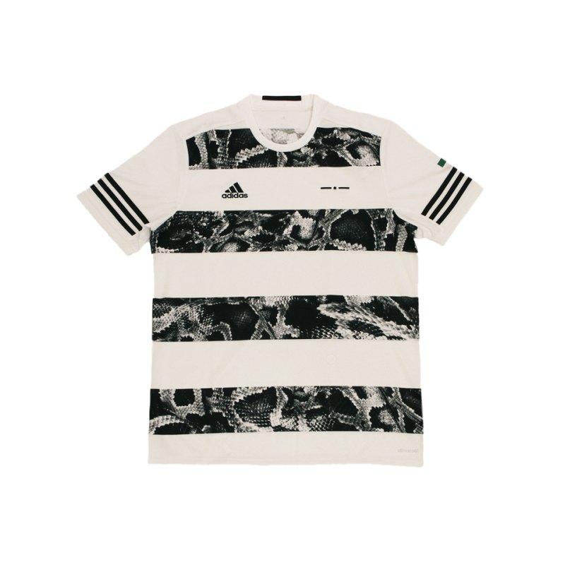 adidas UFB Graphic Tee T-Shirt Weiss Schwarz - weiss