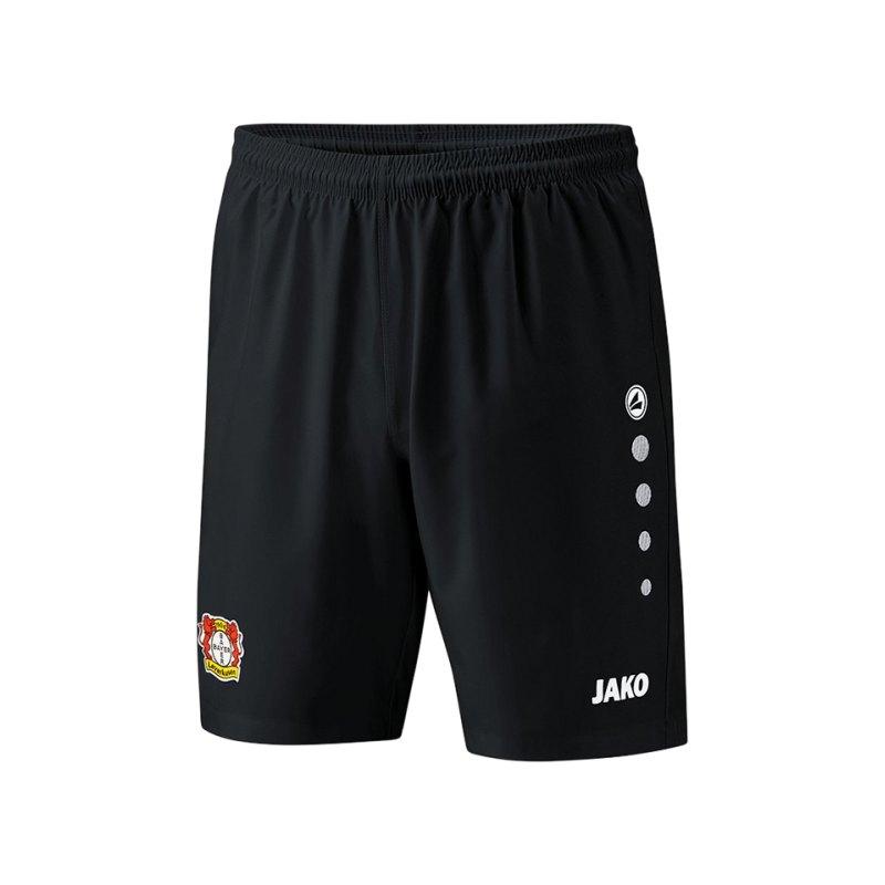 Jako Bayer 04 Leverkusen Short Home 2018/2019 Kids Schwarz F08 - schwarz