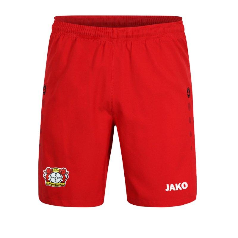 Jako Bayer 04 Leverkusen Short Home 2019/2020 Kids Rot F01 - rot
