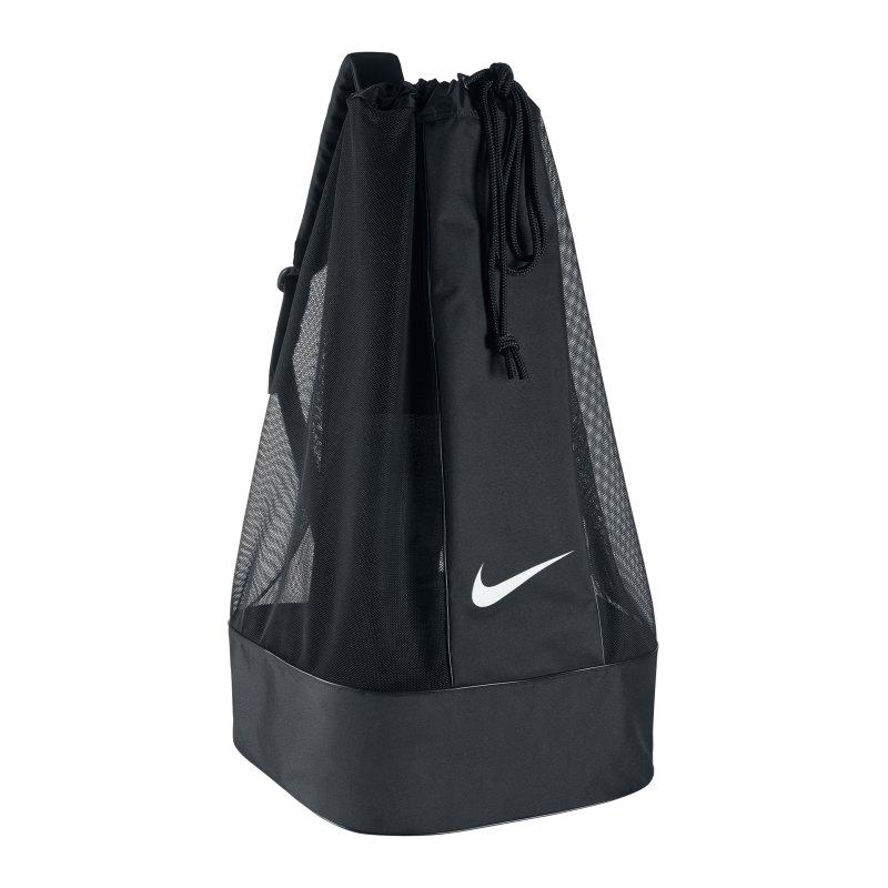 Nike Ballsack Club Team Swoosh Ball Bag F010 - schwarz