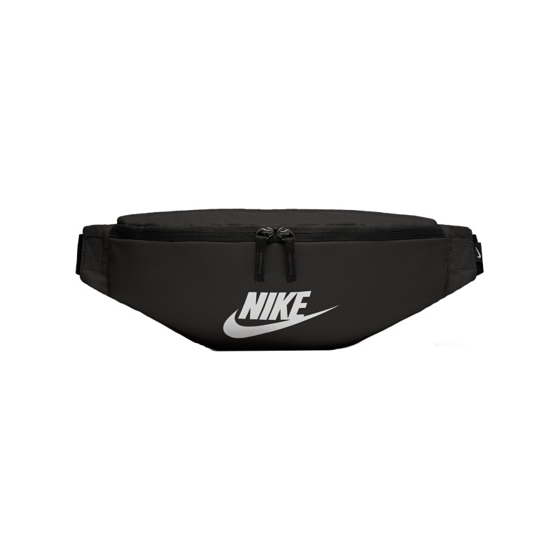 Nike Heritage Hip Pack Schwarz Weiss F010 - schwarz