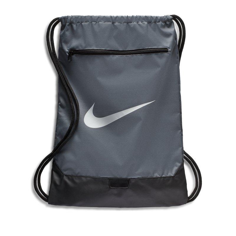 Nike Brasilia 9.0 Gymsack F026 - grau