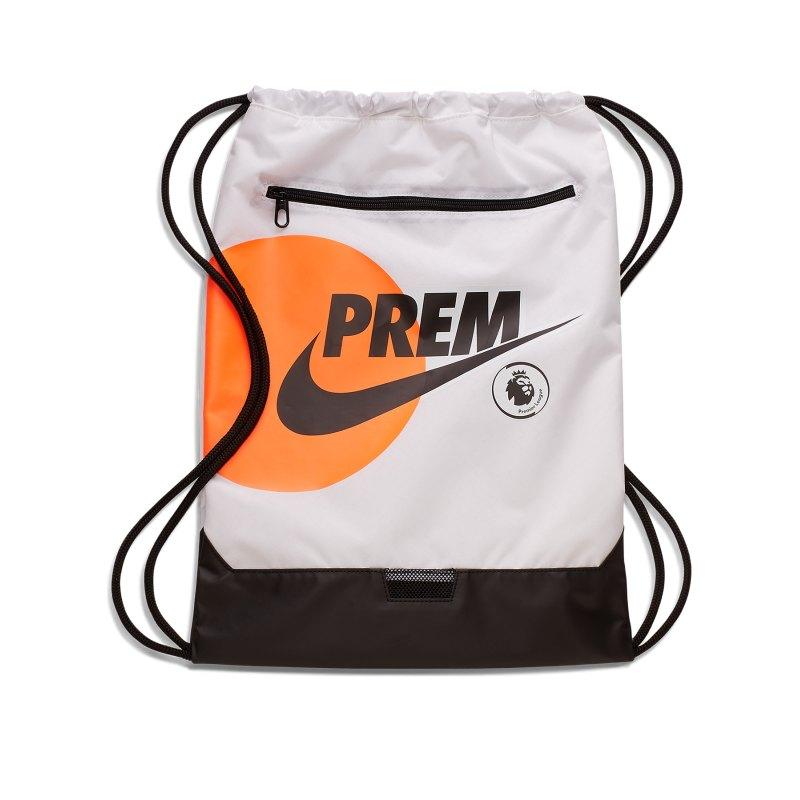 Nike Premier League Gymsack Schwarz F010 - schwarz