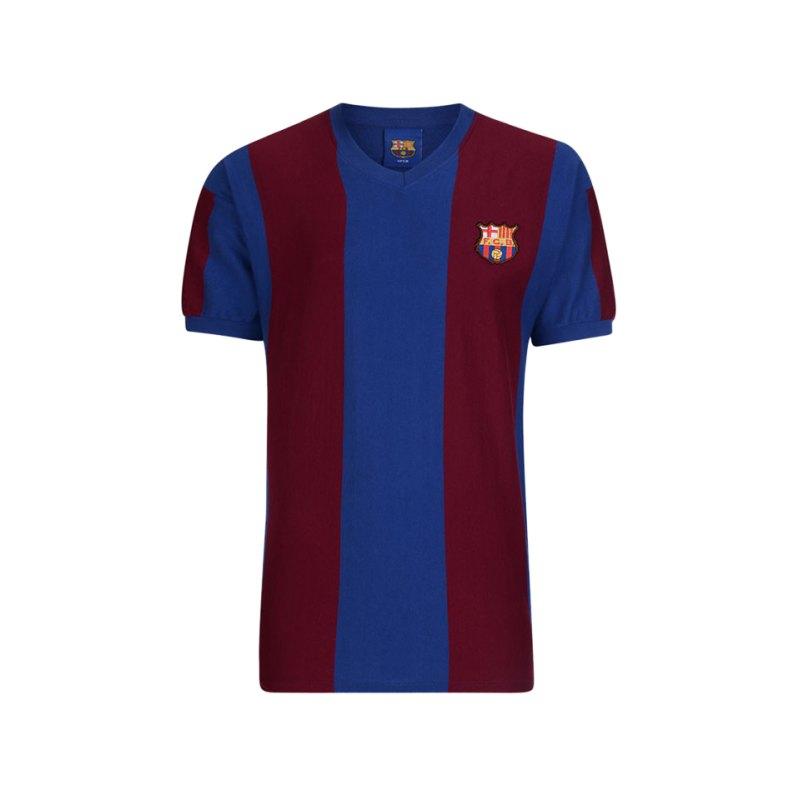 FC Barcelona Trikot ECWC Finale 1979 Rot Blau - blau