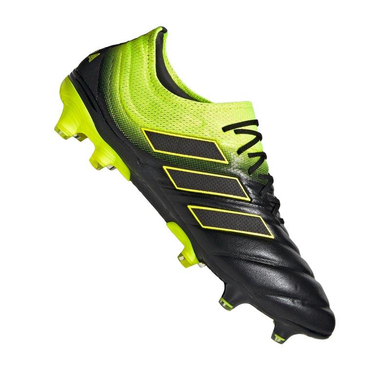 adidas COPA 19.1 FG Schwarz Gelb - schwarz