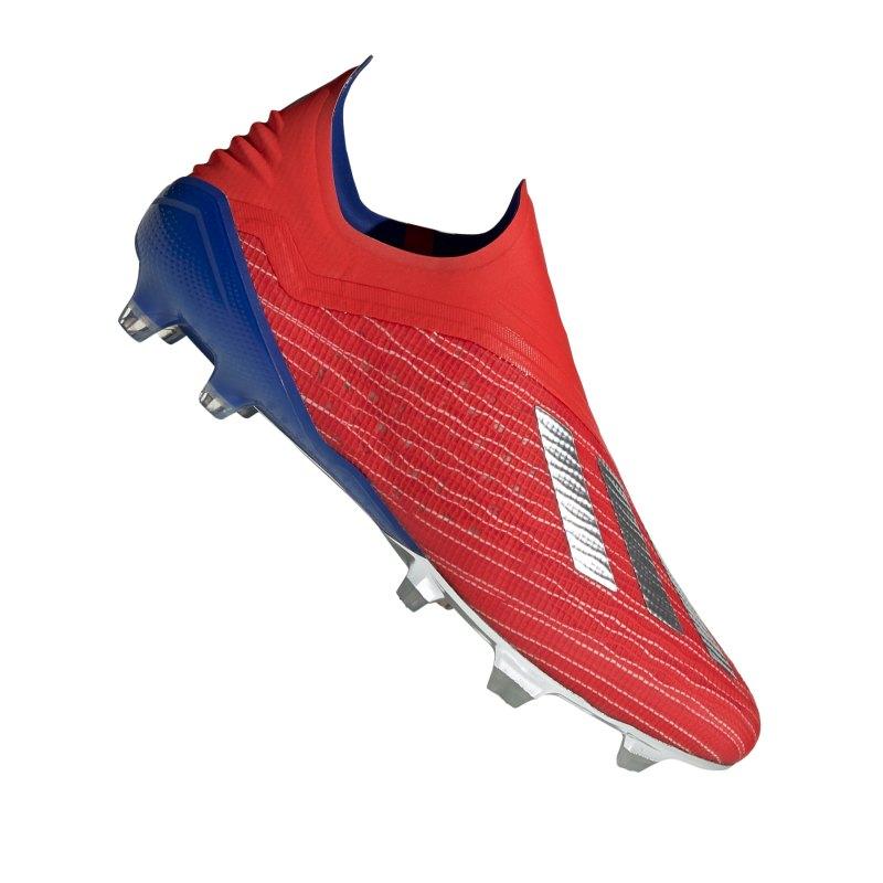 adidas X 18+ FG Rot Blau - rot