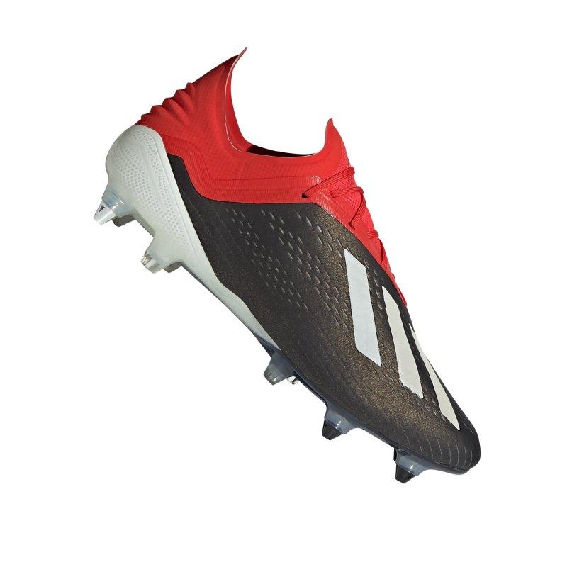 adidas X 18.1 SG Schwarz Rot - schwarz