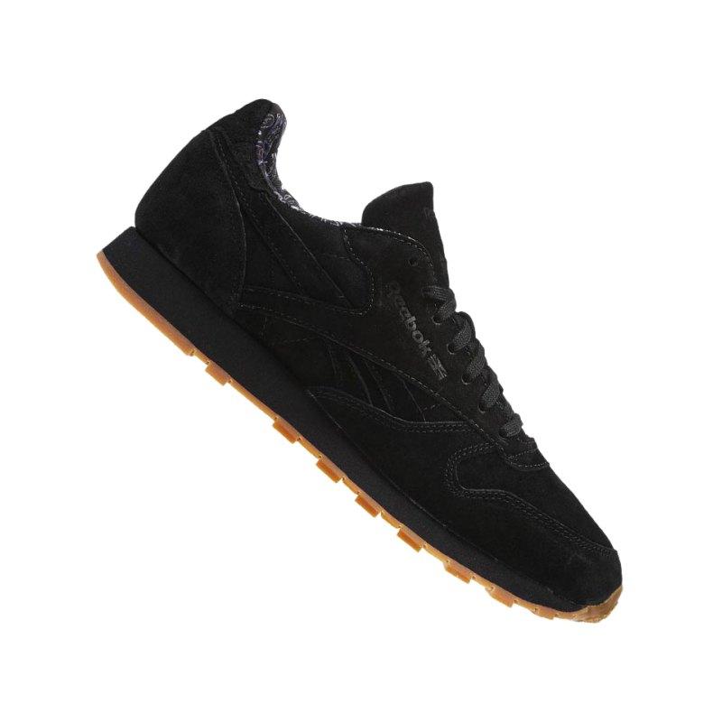 Reebok Classics CL LTHR PP Ledersneakers schwarz