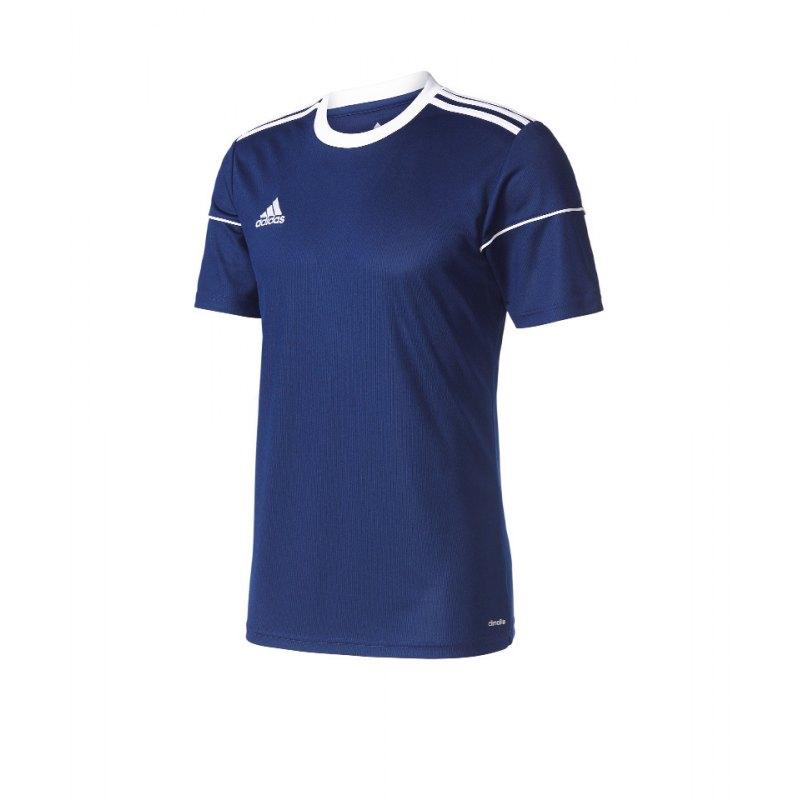 adidas Trikot Squadra 17 kurzarm Blau - blau