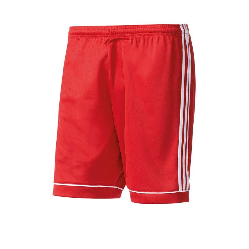 adidas Short Squadra 17 ohne Innenslip Rot - rot