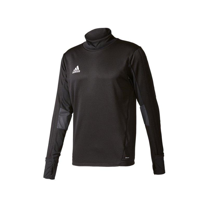 adidas Tiro 17 Trainingstop Schwarz Grau - schwarz