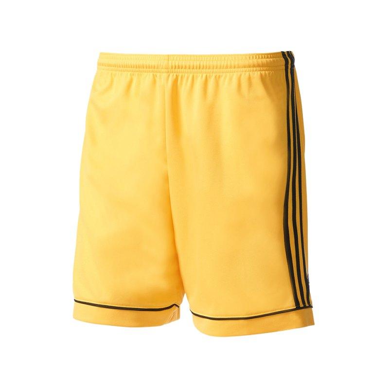 adidas Short Squadra 17 ohne Innenslip Gelb - gelb