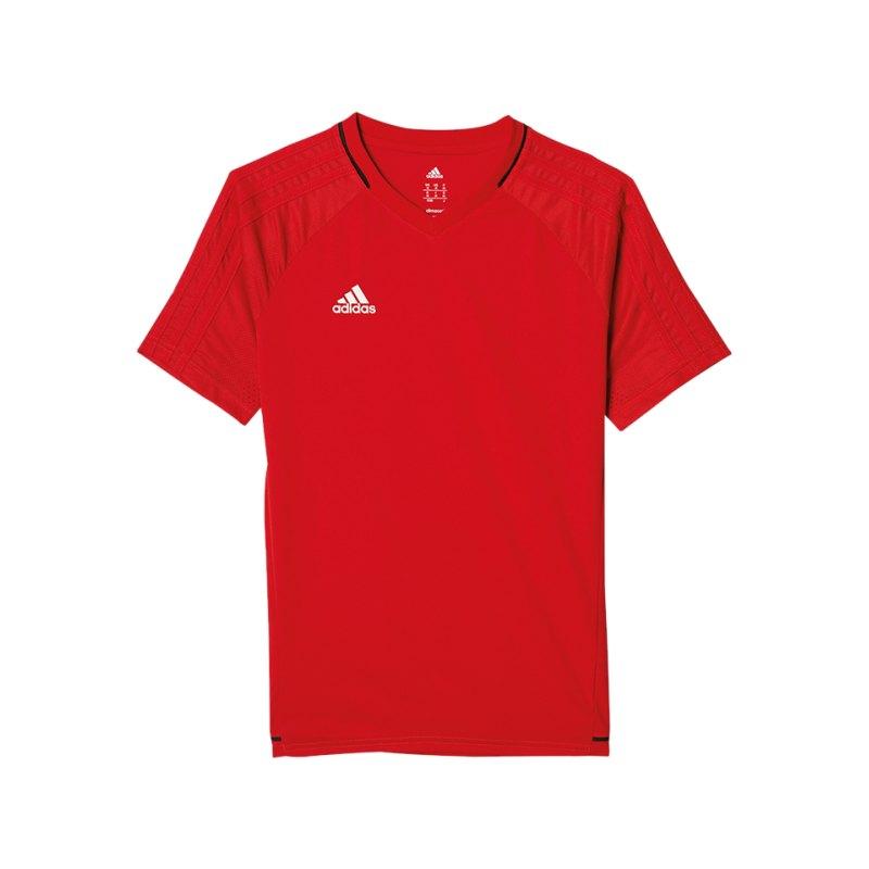 adidas Trainingsshirt Tiro 17 Rot - rot