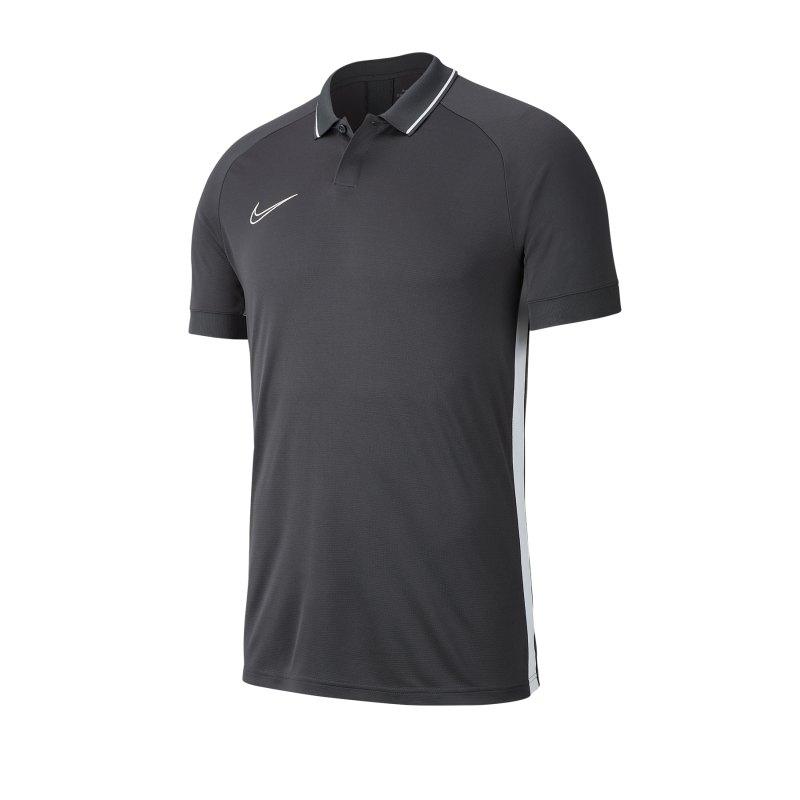 Nike Academy 19 Poloshirt Kids Schwarz F060 - schwarz
