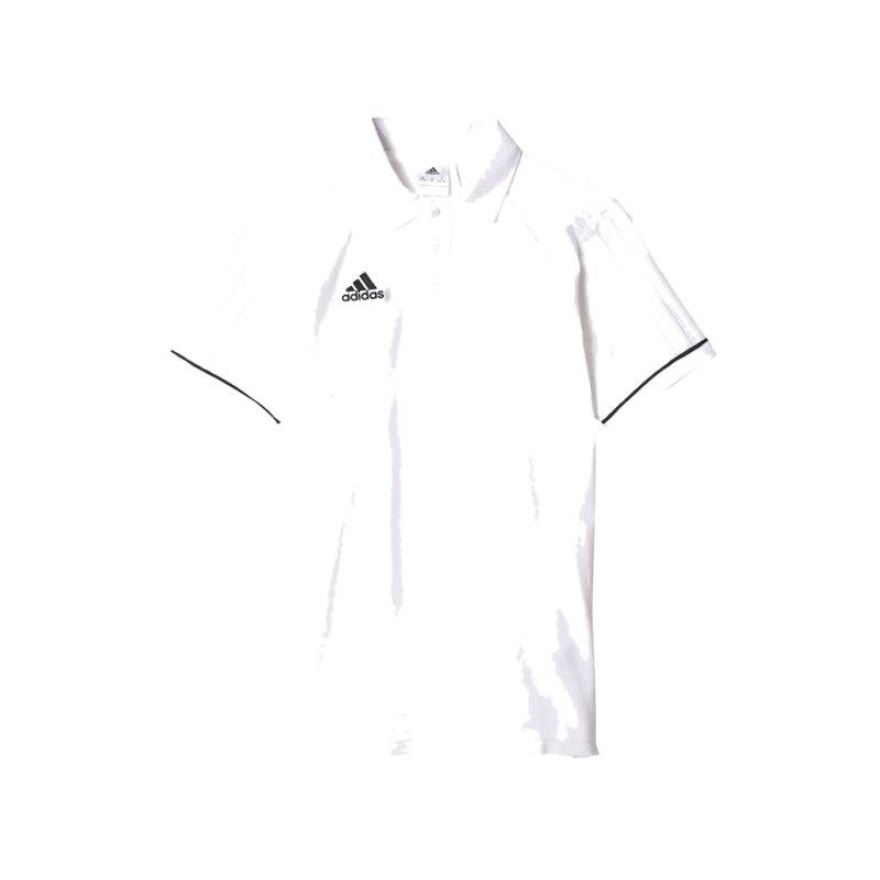 adidas Poloshirt Tiro 17 Kinder Weiss Schwarz