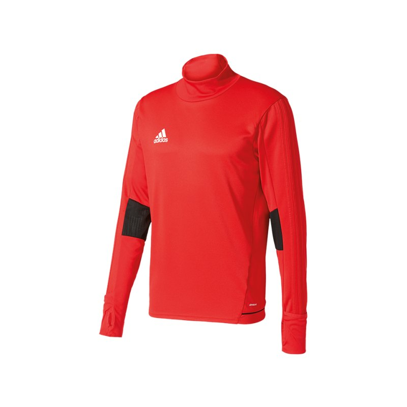 adidas Tiro 17 Trainingstop Rot Schwarz - rot