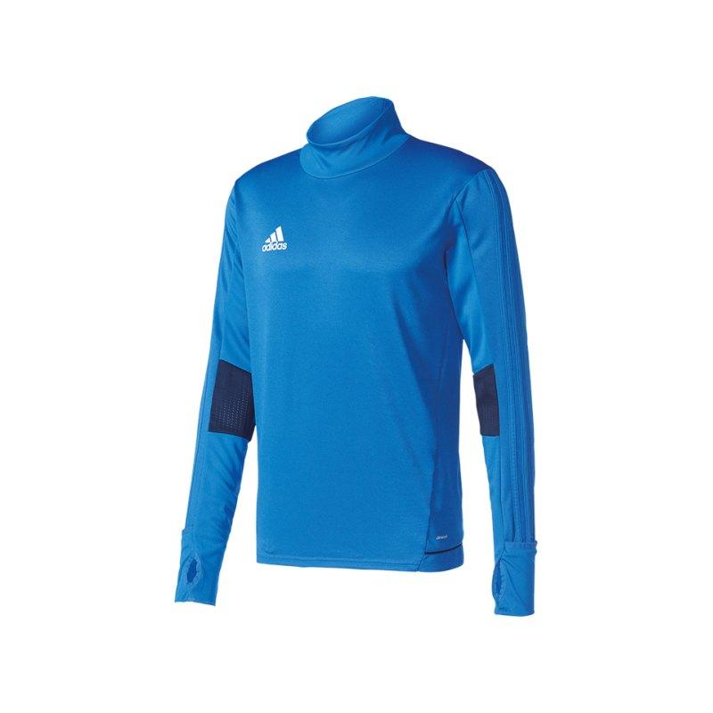adidas Tiro 17 Trainingstop Blau - blau