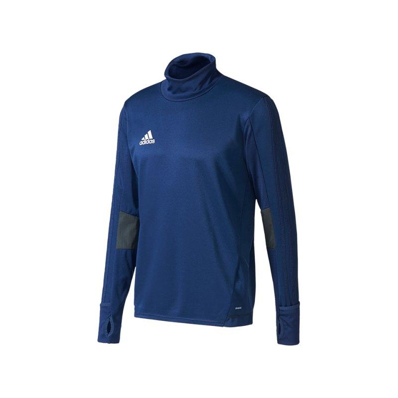 adidas Trainingstop Trio 17 Dunkelblau Grau - blau