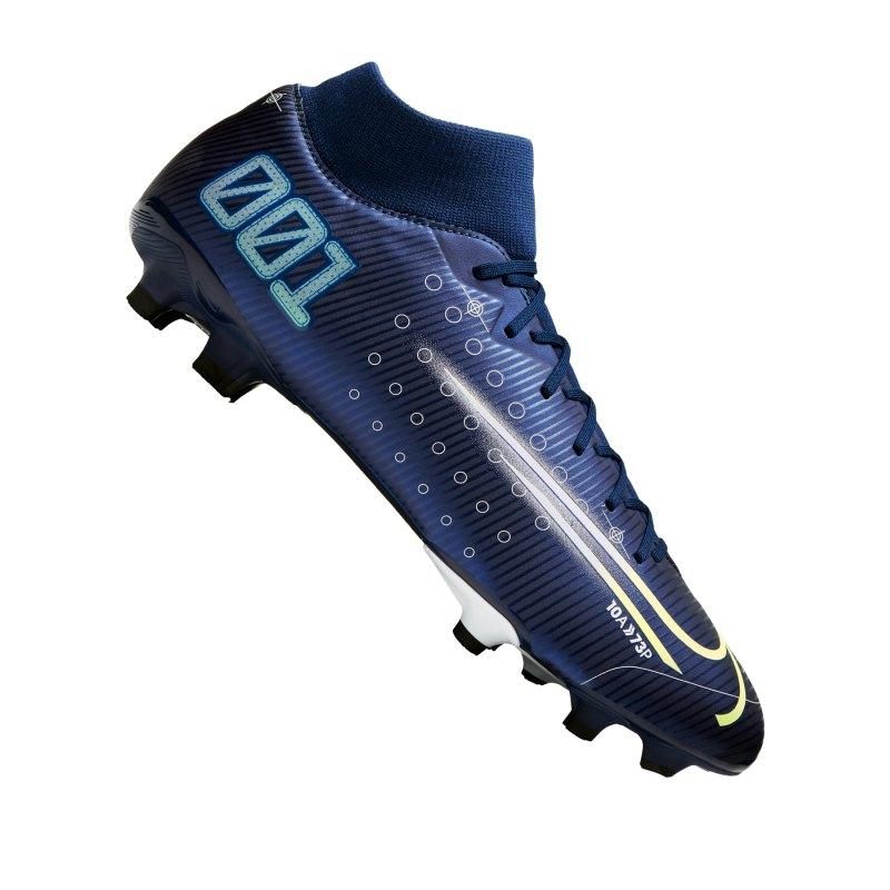 Nike Mercurial Superfly VII Dreamspeed Academy FG Blau F401 - blau
