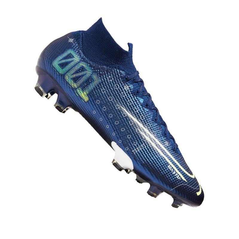 Nike Mercurial Superfly VII Dreamspeed Elite FG Blau F401 - blau