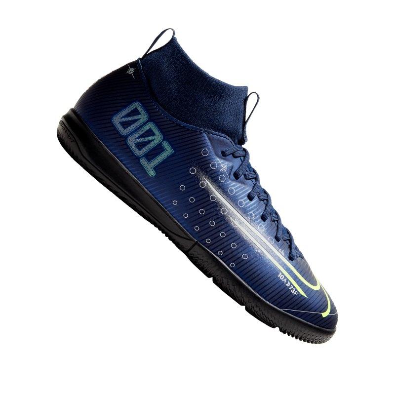 Nike Jr Mercurial Superfly VII DS Academy IC Kids Blau F401 - blau