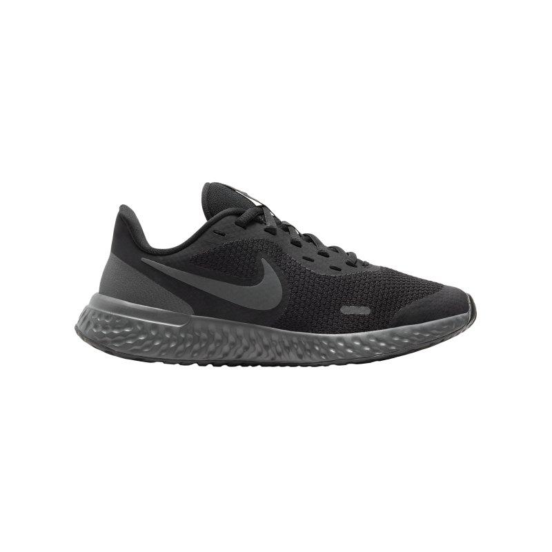 Nike Revolution 5 Running Kids Rosa Schwarz F001 - schwarz