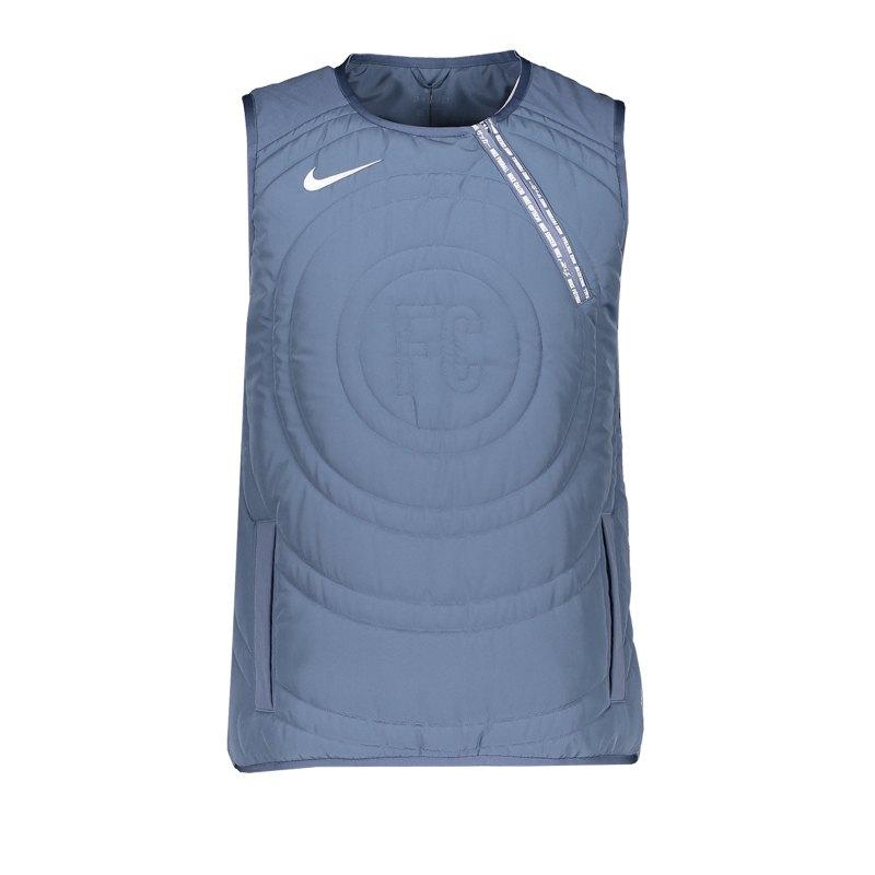 Nike F.C. Vest Weste Blau F491 - blau