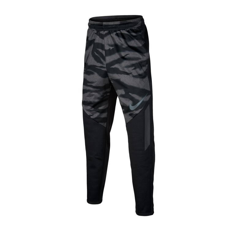 Nike Therma Pants Trainingshose Kids Schwarz F010 - schwarz