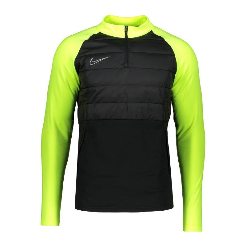 Nike Dri-FIT Academy Sweatshirt Schwarz F013 - schwarz