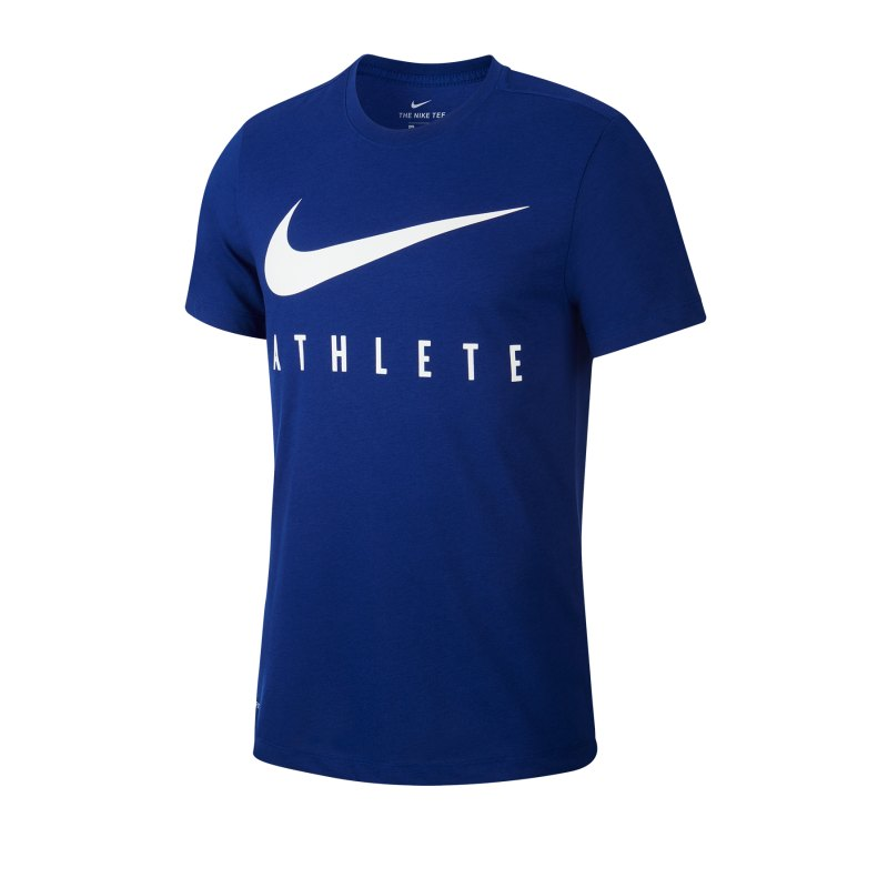 Nike Athlete Tee T-Shirt Blau F455 - blau