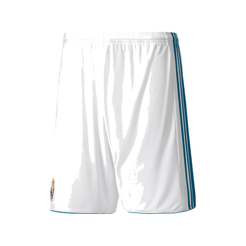 adidas Short Home Real Madrid Weiss 2017/2018 - weiss