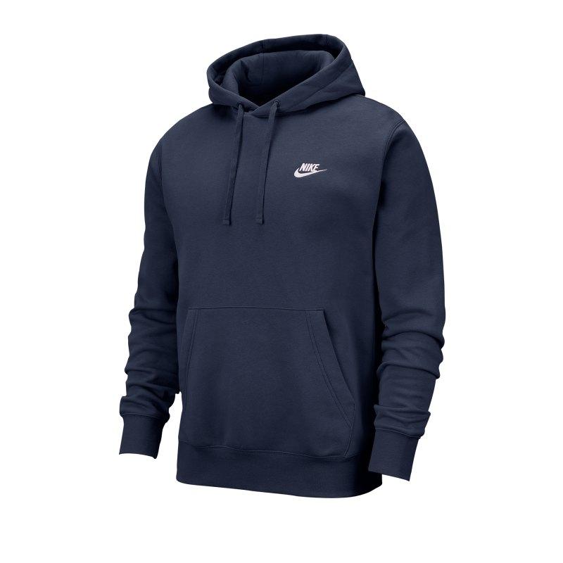 Nike Club Fleece Hoody Blau F410 - blau