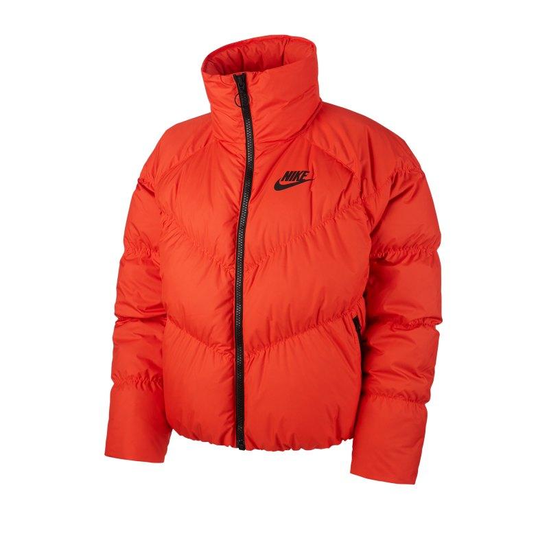 Nike Daunenjacke Damen Orange F891 - orange