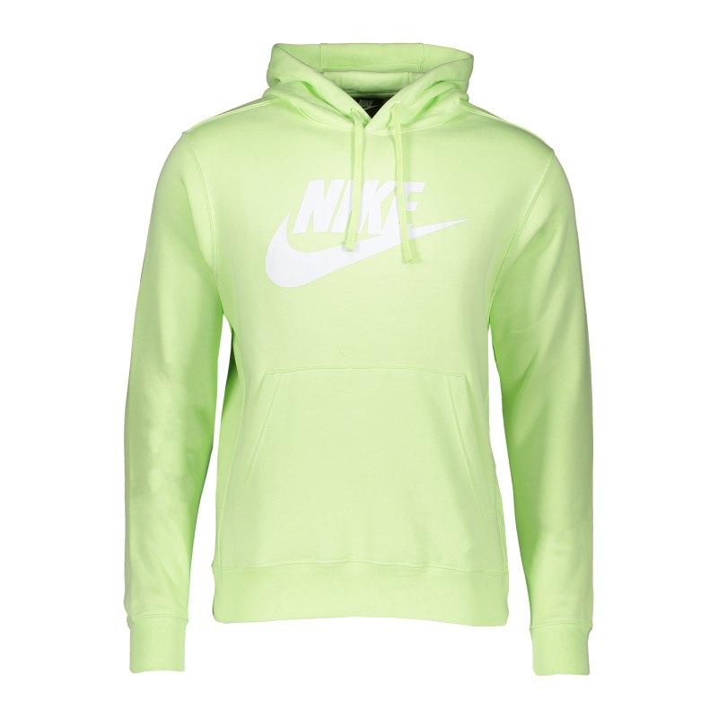 Nike Club Fleece Hoody Grün F383 - gruen