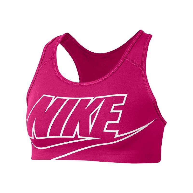 Nike Swoosh Future Bra Sport-BH Damen Pink F616 - pink