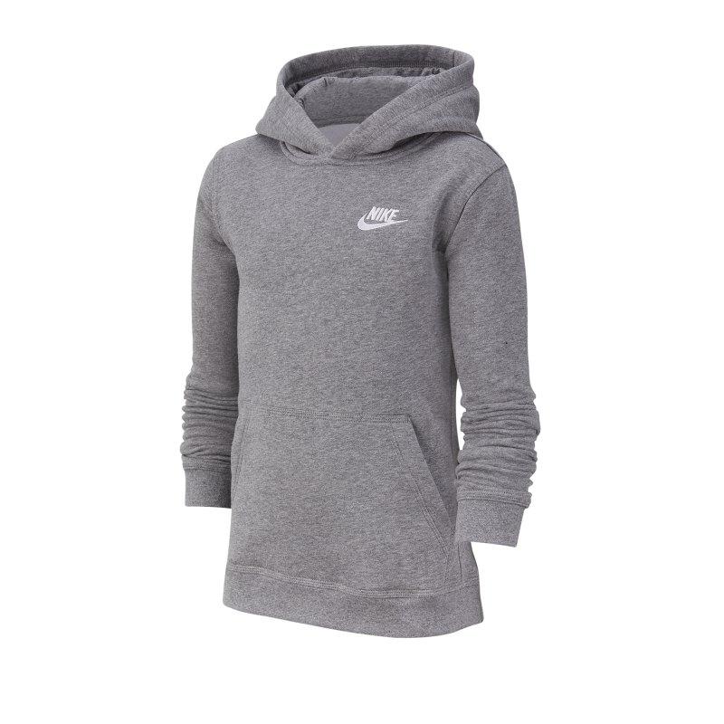 Nike Club Hoody Kids Grau F091 - grau