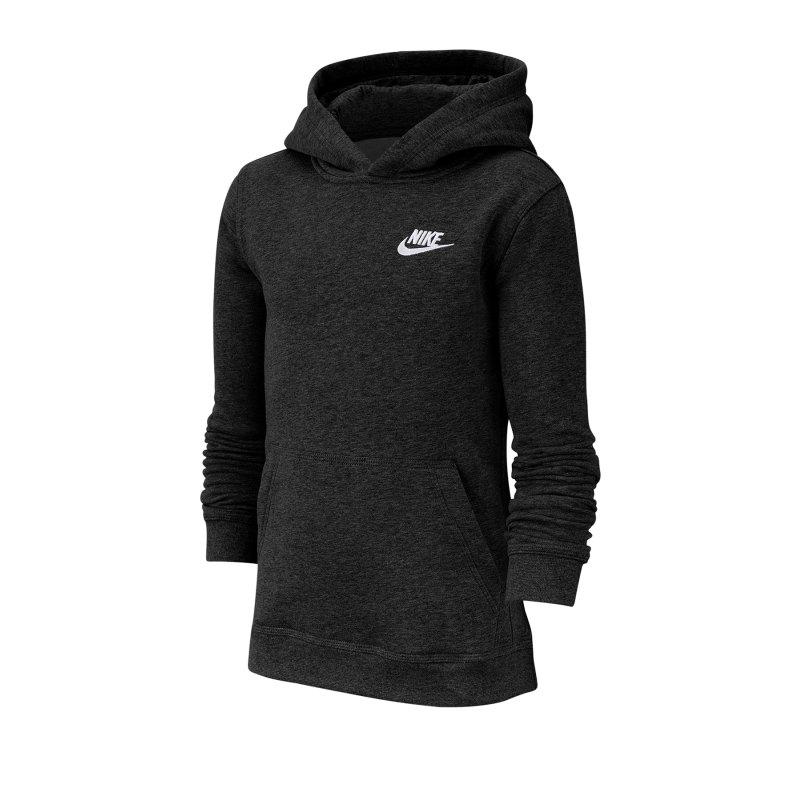 Nike Hoody Sweatshirt Kapuzenpullover Kids F011 - schwarz