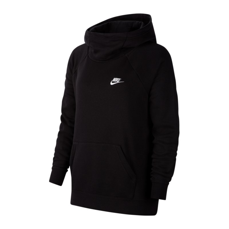 Nike Essential Hoody Damen Schwarz F010 - schwarz