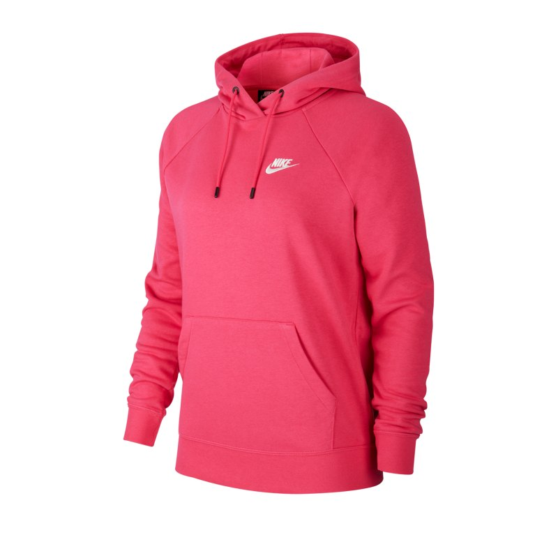 Nike Essential Kapuzensweatshirt Damen Rot F674 - rot