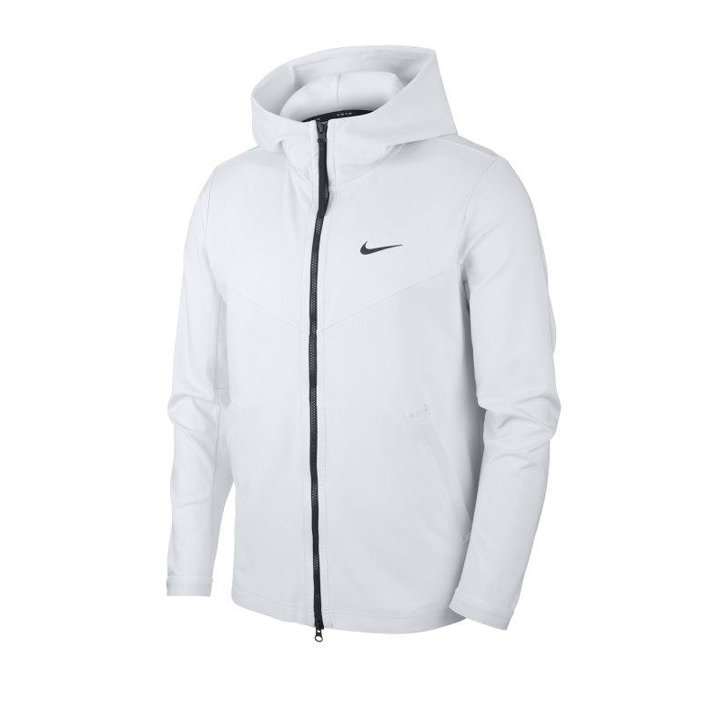 Nike Full-Zip Hooded Jacke Grau F094 - grau