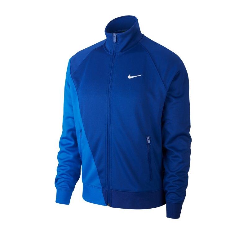 Nike Swoosh Trainingsjacke Blau F480 - blau