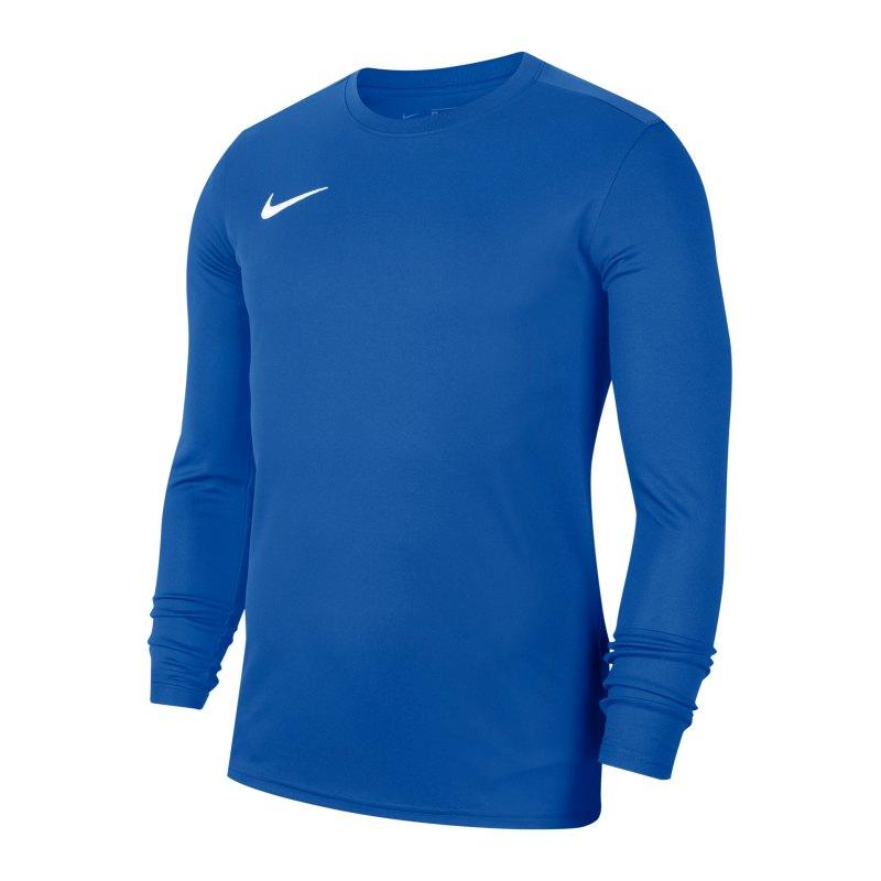 Nike Park VII Trikot langarm Blau F463 - blau