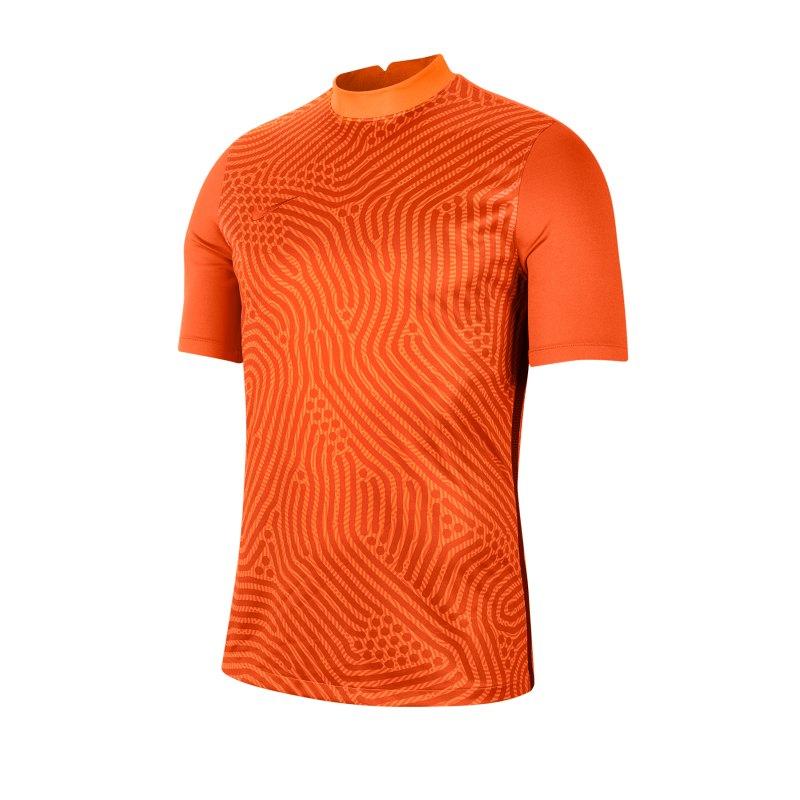 Nike Gardien III Torwarttrikot kurzarm Orange F803 - orange