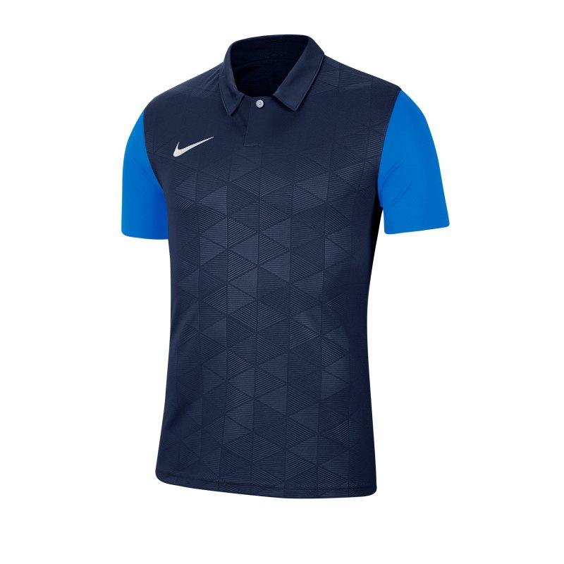 Nike Trophy IV Trikot Blau F410 - blau