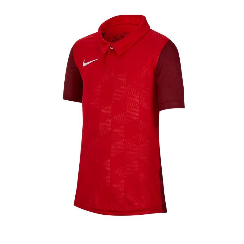 Nike Trophy IV Trikot kurzarm Kids Rot F657 - rot