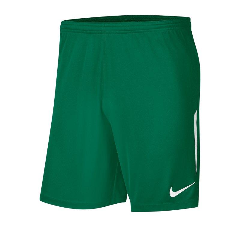 Nike League Knit II Short Grün Weiss F302 - gruen
